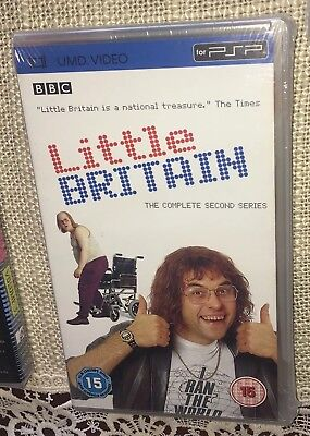 Little Britain The Complete Second Series UMD PSP NEW==FAST FREE SHIPPING==