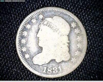 1831 Capped Bust Silver Half Dime #6458