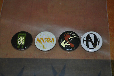 NEW Hanson Use Your Sole Buttons Pins!