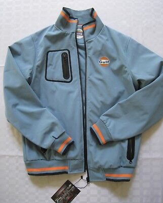 GULF Softshell Jacket Grand Prix Originals Blue Size M -  Collectors Edition NEW