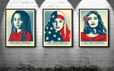 Obey - Shepard Fairey - We The People Signed Set