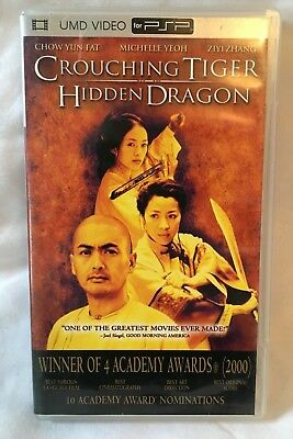 Crouching Tiger Hidden Dragon Movie UMD For Sony PSP - DVD Video