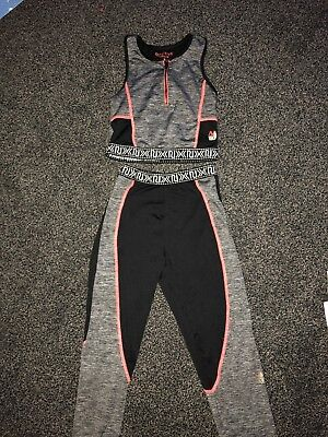 Girls Kids River Island Sport Set. Age 11-12 Yrs