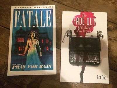 Fatale Book 4 Pray For Rain Fade Out Act One 1 Ed Brubaker Sean Phillips