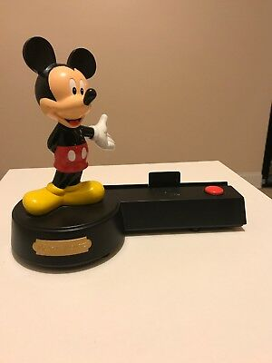 Disney Mickey Mouse Talking Picture Photo Frame Bobblehead Missing Frame (talks)