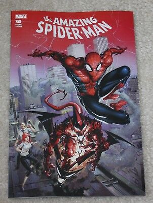 AMAZING SPIDER-MAN 798 CLAYTON CRAIN CONNECTING LOGO VARIANT 1st RED GOBLIN 3000