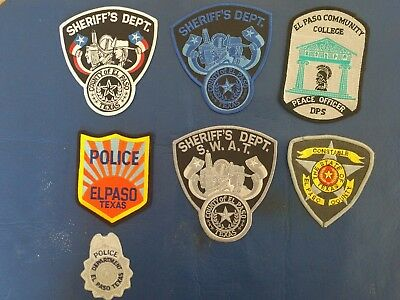 Texas police patch lot