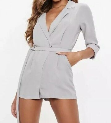 Missguided Playsuit 12 BNWT