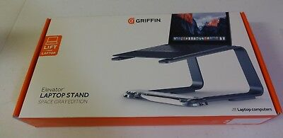 Griffin Elevator Laptop Stand Space Gray Edition
