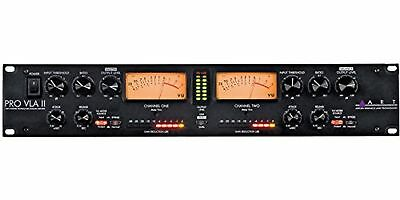 ART Pro-VLA II Two Channel Vactrol-based Compressor MultiColored