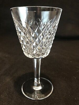 "Waterford Crystal Alana Claret Wine Glass 5 7/8"" H Sold Individually"