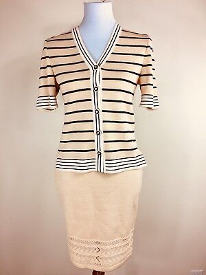 St. John Collection By Marie Gray Knit Skit Suit Size 2 EUC So Beautiful