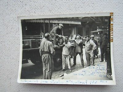 rare old photo ancienne haltherophilie argentique Rigoulot ,capoulat 1930