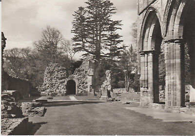 Dryburgh Abbey - The Nave Of The Abbey Church- Real Photo Postcard # 14919