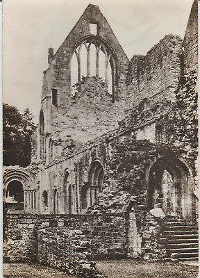 Dryburgh Abbey -East Side Of Cloisters- Real Photo Postcard # 14921
