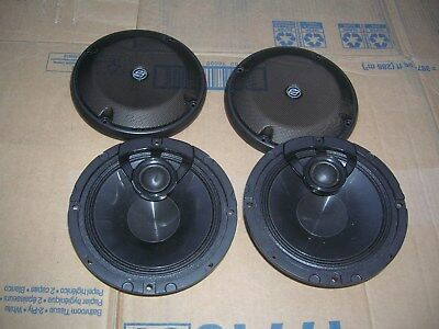 Harley Davidson Boom Audio Speakers With Grills Part # 76000320 Touring 14-Later