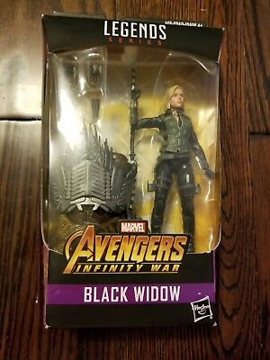 "Marvel Legends 6"" Black Widow New Sealed w/ Cull Obsidian BAF Infinity War"
