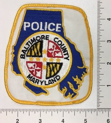 Vintage Baltimore Maryland Police Patch