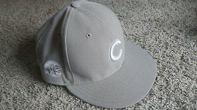 b5b9184b425 ... norway chicago cubs fitted gray hat by new era 59fifty size 7 5 8 mlb  team