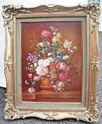 Apollonia - Oil Painting - High Quality Still Life of Flowers in a Vase