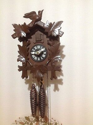 Small German Regula Cuckoo Clock ~ Working Order