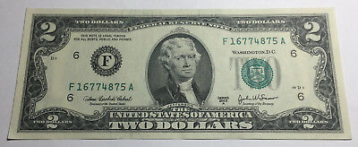 United States 2003A Two Dollars Note - F16774875A
