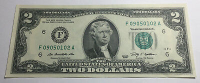 United States 2009 Two Dollars Note - F09050102A