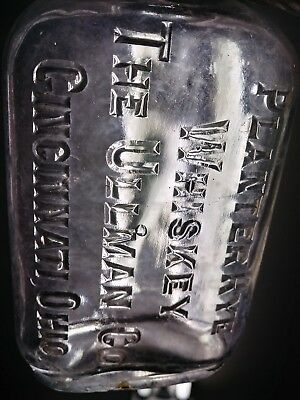 vintage antique old bottle 12 pint whiskey Cincinnati Ohio