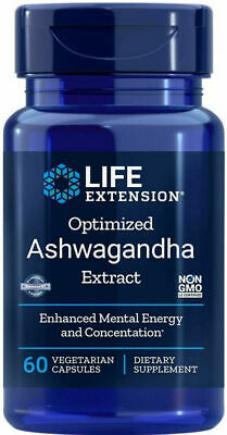 ASHWAGANDHA EXTRACT STRESS NERVOUS SYSTEM HEALTH  60 Caps 450mg