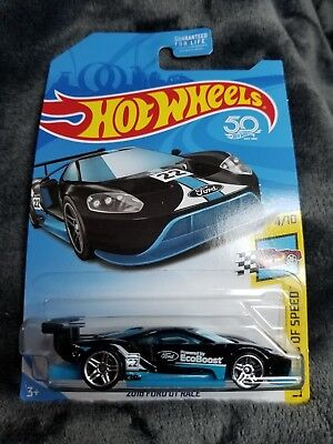 Hot Wheels  Ford Gt Race Kroger Exclusive Black