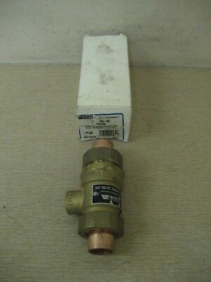 "New Watts 0061926 3/4"" 9DS-MS 9D-M2 Dual Check Valve Backflow Preventer"