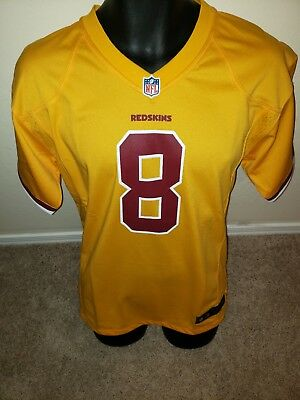 NIKE WASHINGTON REDSKINS Kirk Cousins Jersey Burgund White Men s ... 41b292258e8