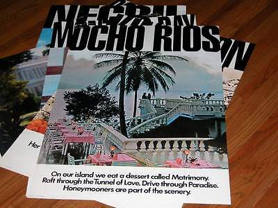Rare Out of Print Vintage New Ocho Rios Jamaica Tourist Board Travel Poster JTB