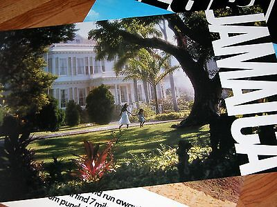 Rare! New Out of Print Vintage Devon House Jamaica Tourist Board Travel Poster