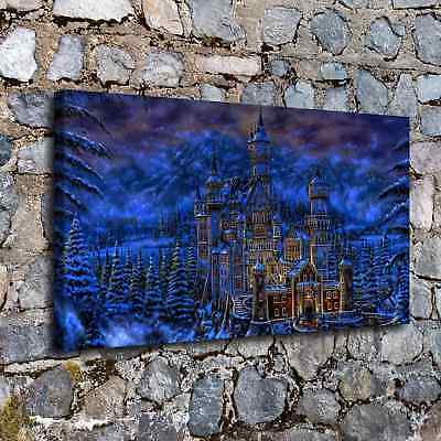 Castles Fantasy HD Canvas Prints Painting Home Decor Picture Wall Art Poster