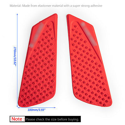 Tank Traction Pad Side Gas Knee Grip Protector For DUCATI 848 1098 1198 RE BS1