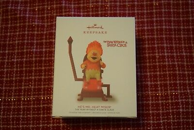 2018 Hallmark-He's Mr. Heat Miser, The Year Without A Santa Claus,Ornament NIB