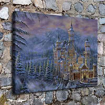 Castles Fantasy HD Canvas Prints Painting Home Decor Room Picture Art Poster