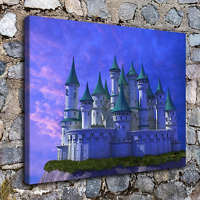 Castles Fantasy 3 HD Canvas Prints Painting Home Decor Room Picture Art Poster