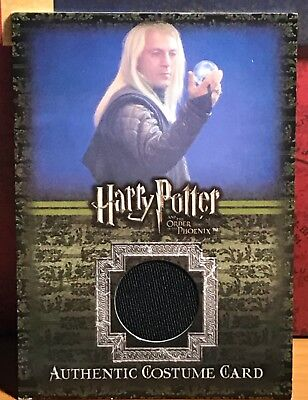 Harry Potter OOTP Costume Card C11 Lucius Malfoy #401 Phoenix