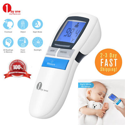 Digital Non-contact IR Infrared Thermometer Baby Forehead Body Temperature Meter