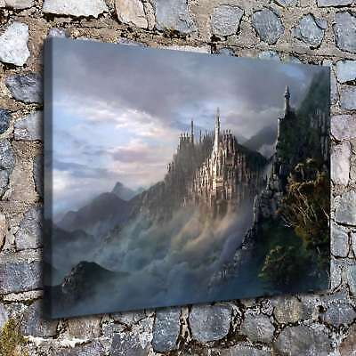 Castles Fantasy 2 HD Canvas Prints Painting Home Decor Room Picture Art Poster
