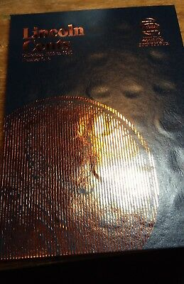 1909 - 1940 Lincoln Cents Starter Set (65 Different Coins) In New Whitman Album