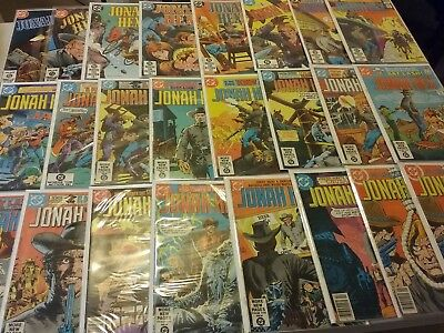 JONAH HEX COMICS LOT OF 24 OVERALL VGOR BETTER MOST 80's