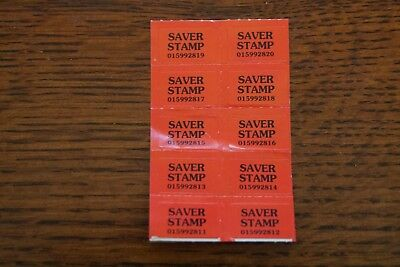 10 Saver Stamps for Luminarc (Shaw's incentive)
