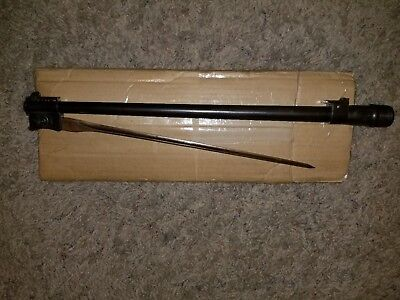 Carcano Cavalry Carbine Barrel With Folding Bayonet