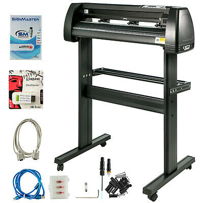 "Vinyl Cutter Plotter Sign Cutting 34"" Software Bundle decoration Drawing Tools"