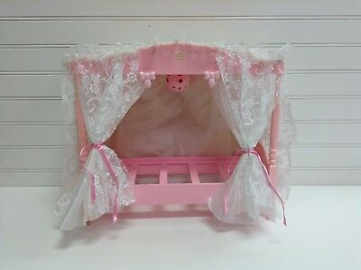 1982 Mattel Barbie Doll House Furniture Canopy Bed