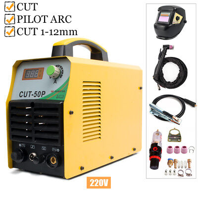 Plasma Cutting Machine 220V Pilot ARC 50Amp IGBT Plasma Cutters & Accessories
