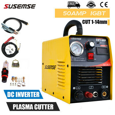230V Plasma Cutters Pilot Arc 50A Inverter Plasma Cutting Machine & Accessories